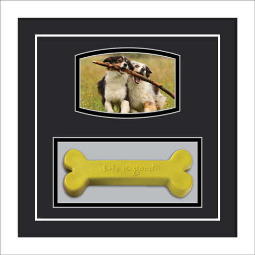 Personalised Pet Photo Picture frame Dog Collar Memory frame
