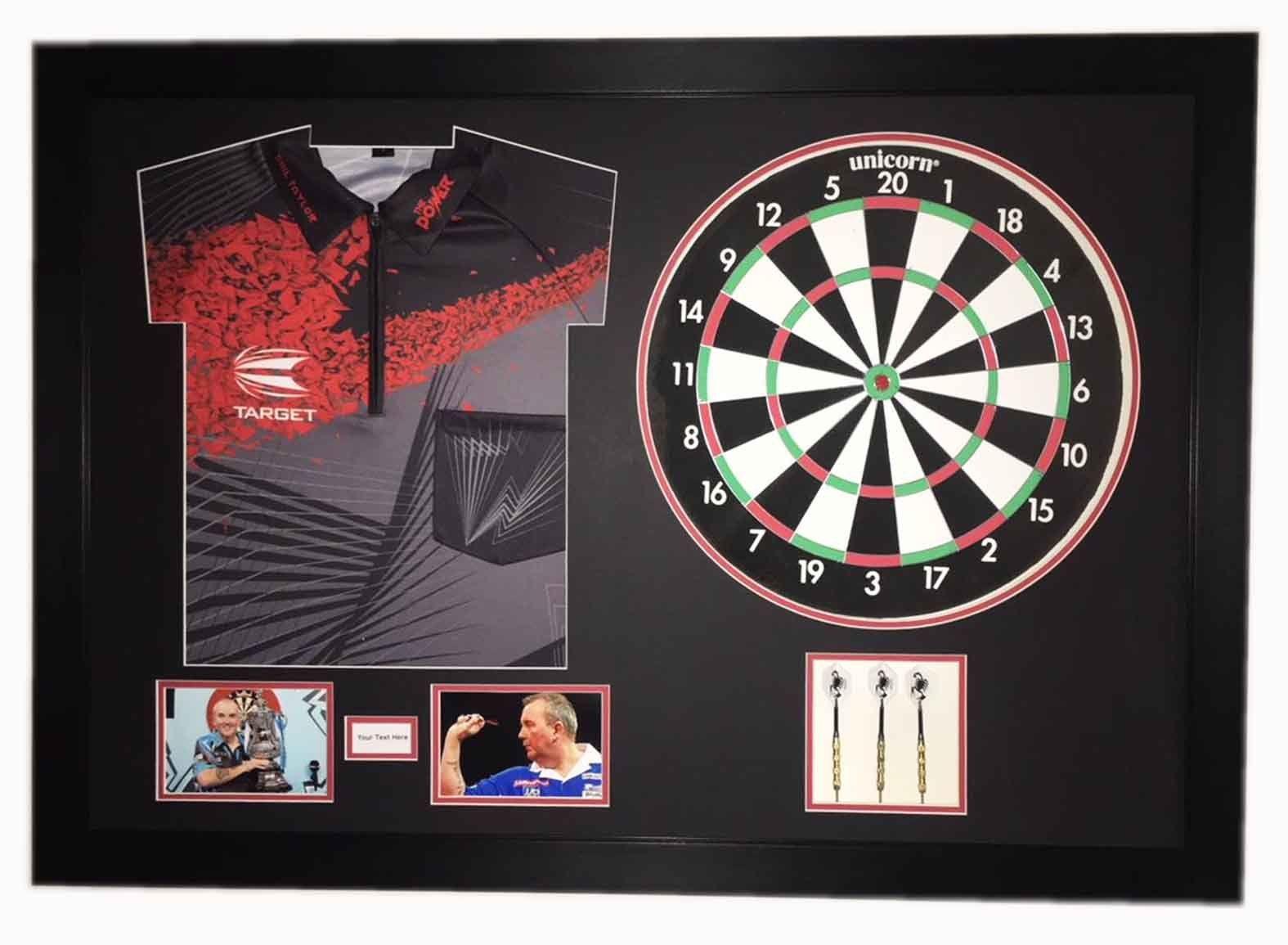 3D Display Case For World Professional Darts Championship Phil Taylor Memorabilia