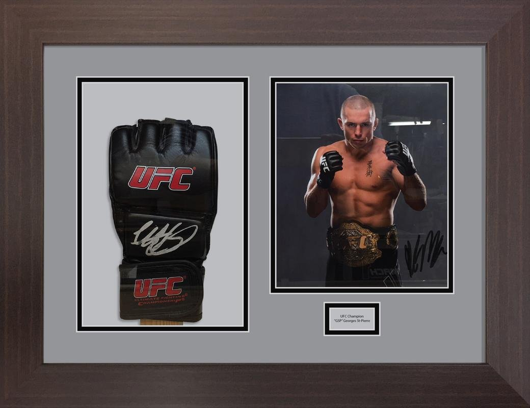 UFC glove display case | boxing glove display frame