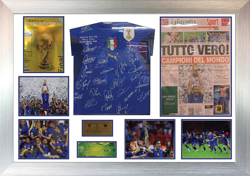 Football shirt display frame