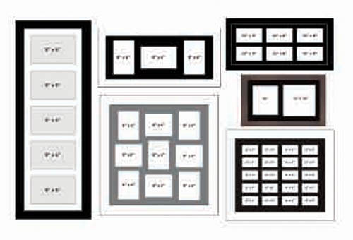 Multi Aperture Picture Frame