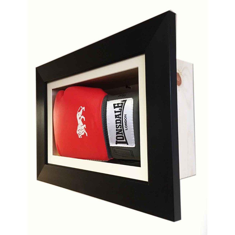 3D Boxing Glove Display Case For Signed Single Glove – Hang Landscape Or Portrait