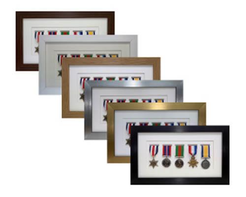 Military Medal Frames