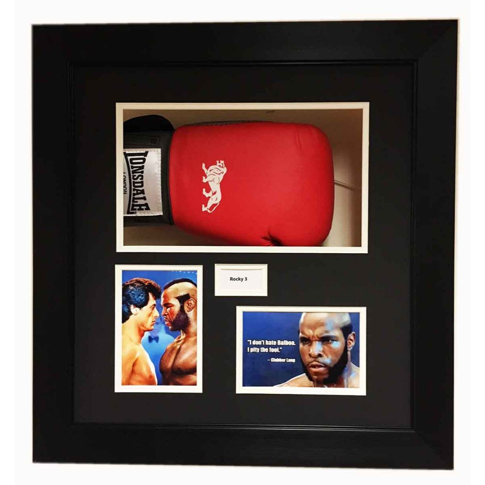 Rocky Balboa Boxing Glove 3d Display Frame For Signed Boxing Gloves Rocky 3 Movie Free Photos And Title