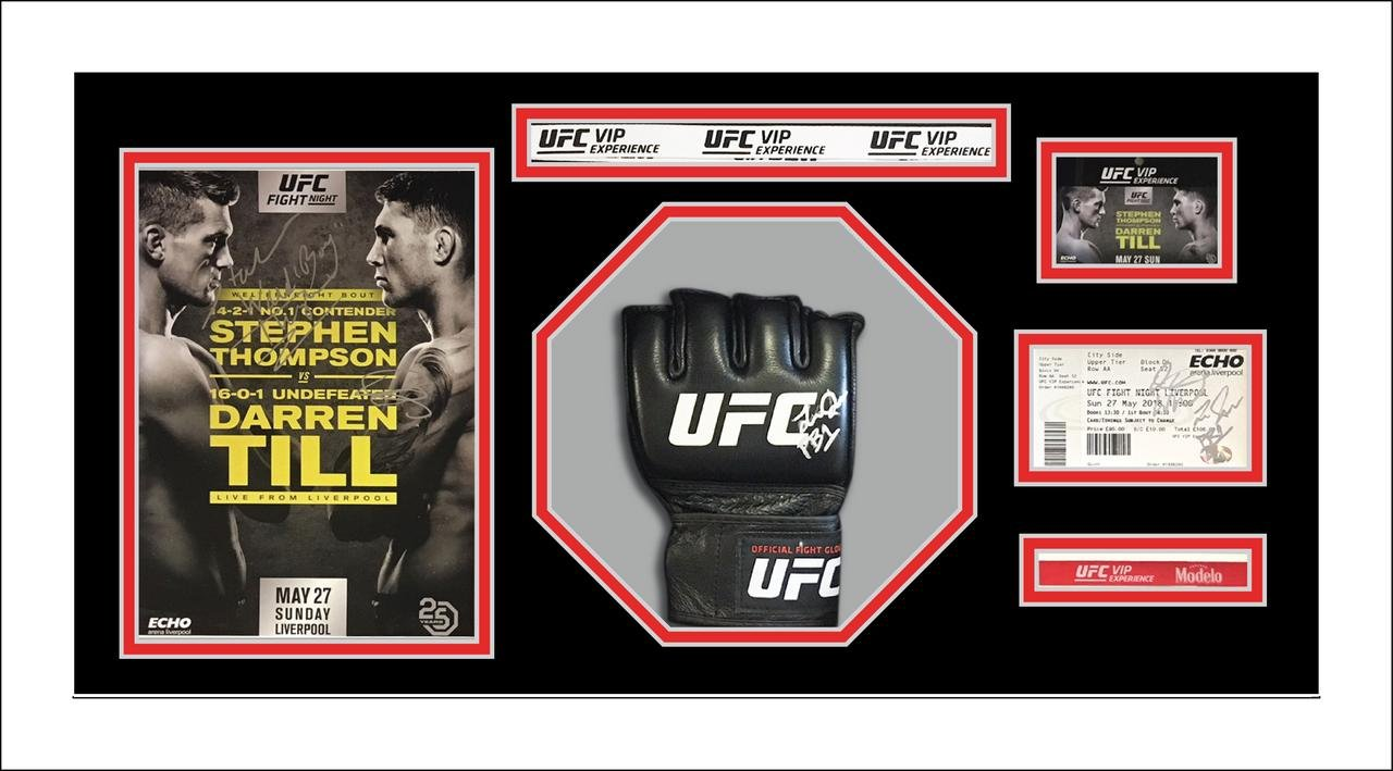 UFC/MMA Memorabilia Framing