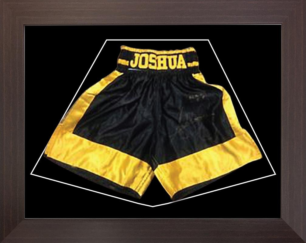 Boxing Shorts Frame For Anthony Joshua
