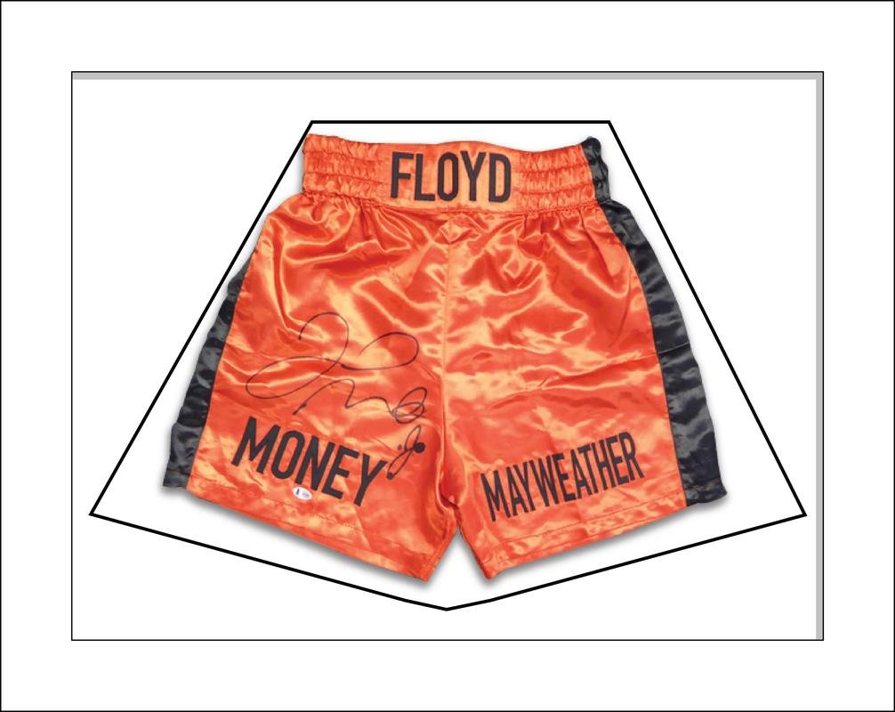 DIY Boxing Shorts Frame For Floyd Mayweather