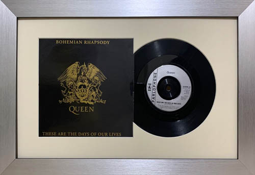 12 Inch Single Vinyl LP Record Frame with Album Cover (Merged)