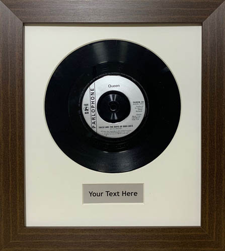 "12"" and 7"" Inch Vinyl Record Frames"