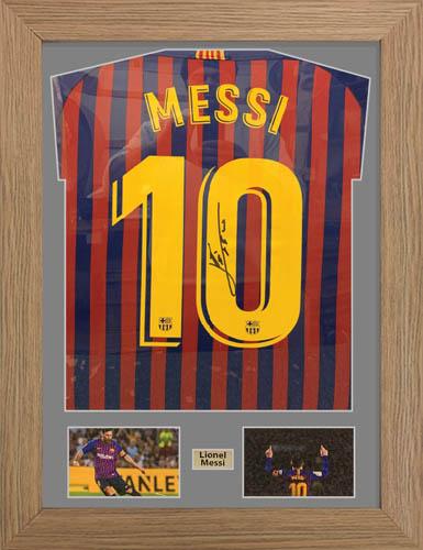 Football Shirt Display Frame with photos