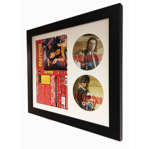 Frame For Full DVD Cover And 2X CD 3D Display Frames