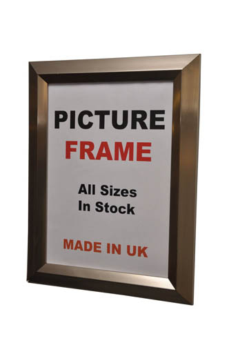 Silver (40mm) Picture Photo Frame (Available in All Sizes)