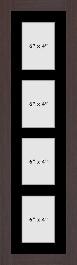 Multi Aperture picture frame fits 4 6x4 photos frames