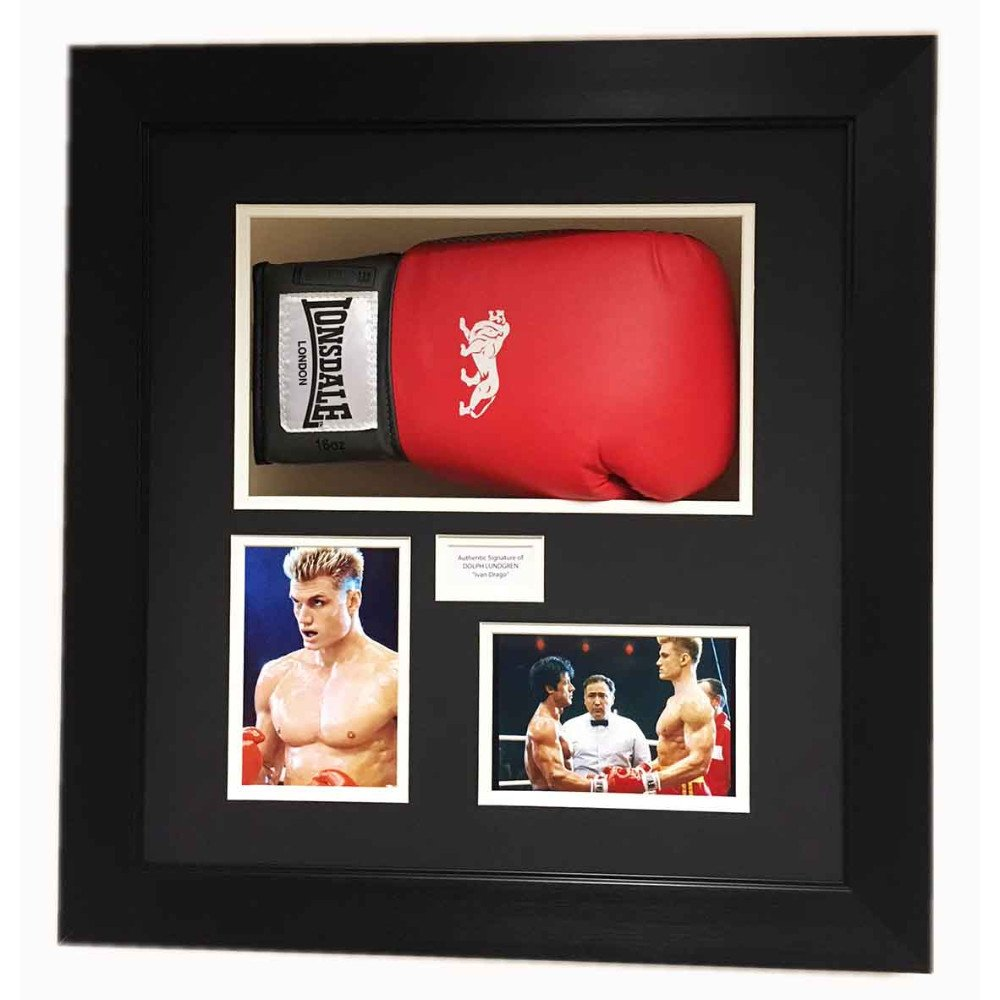 Rocky Balboa Boxing Glove 3d Display For Signed Boxing Gloves Rocky 4 Movie Free Photos And Title
