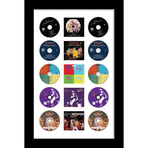 Large Cd/Music Cover Queen Music Memorabilia Picture Frame To Fit Cd And Album