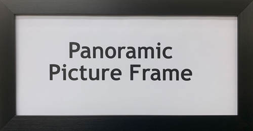 Panoramic Picture Photos Art Print Posters Frame | Polycore Frames
