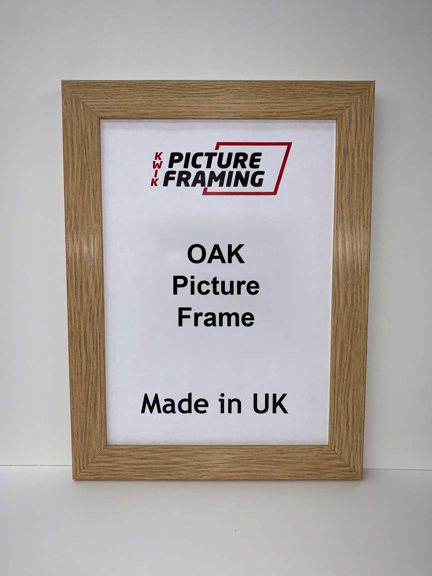 Oak Picture Frame