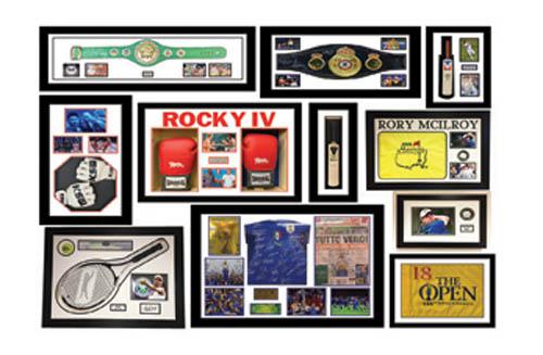 Sport Memorabilia Framing