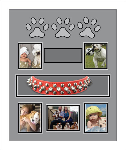 Personalised Dog Photo Frame Memorial | Memory Photo Frames for Dogs