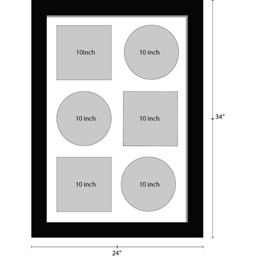 10 Inches Vinyl Record Frame For 3x Records X 3x Sleeves Music Memorabilia Frame