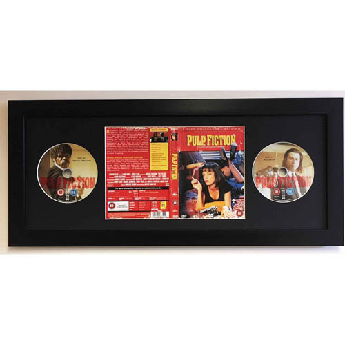 Frame for Full MOVIE DVD Cover and 2X CD 3D Display