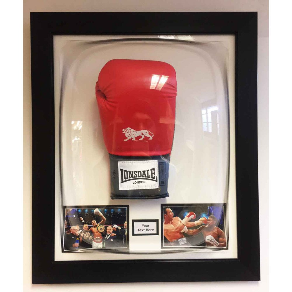 Boxing Glove Acrylic Display Case For Signed Boxing Glove Memorabilia Dome Frame Free Photos And Title