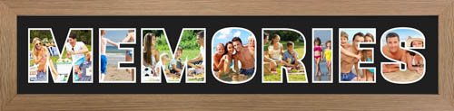 MEMORIES PHOTO Frame Personalised Name Frame | MEMORIES Word PHOTO 3D Frame For MEMORIES