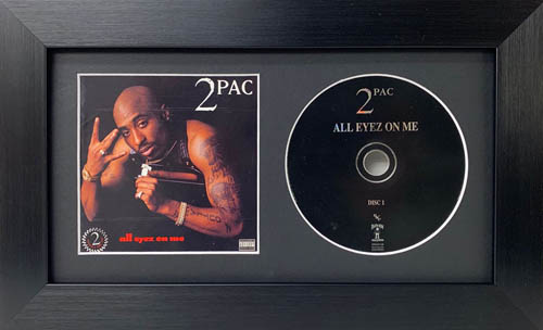 CD and Album Front Cover Picture Frame
