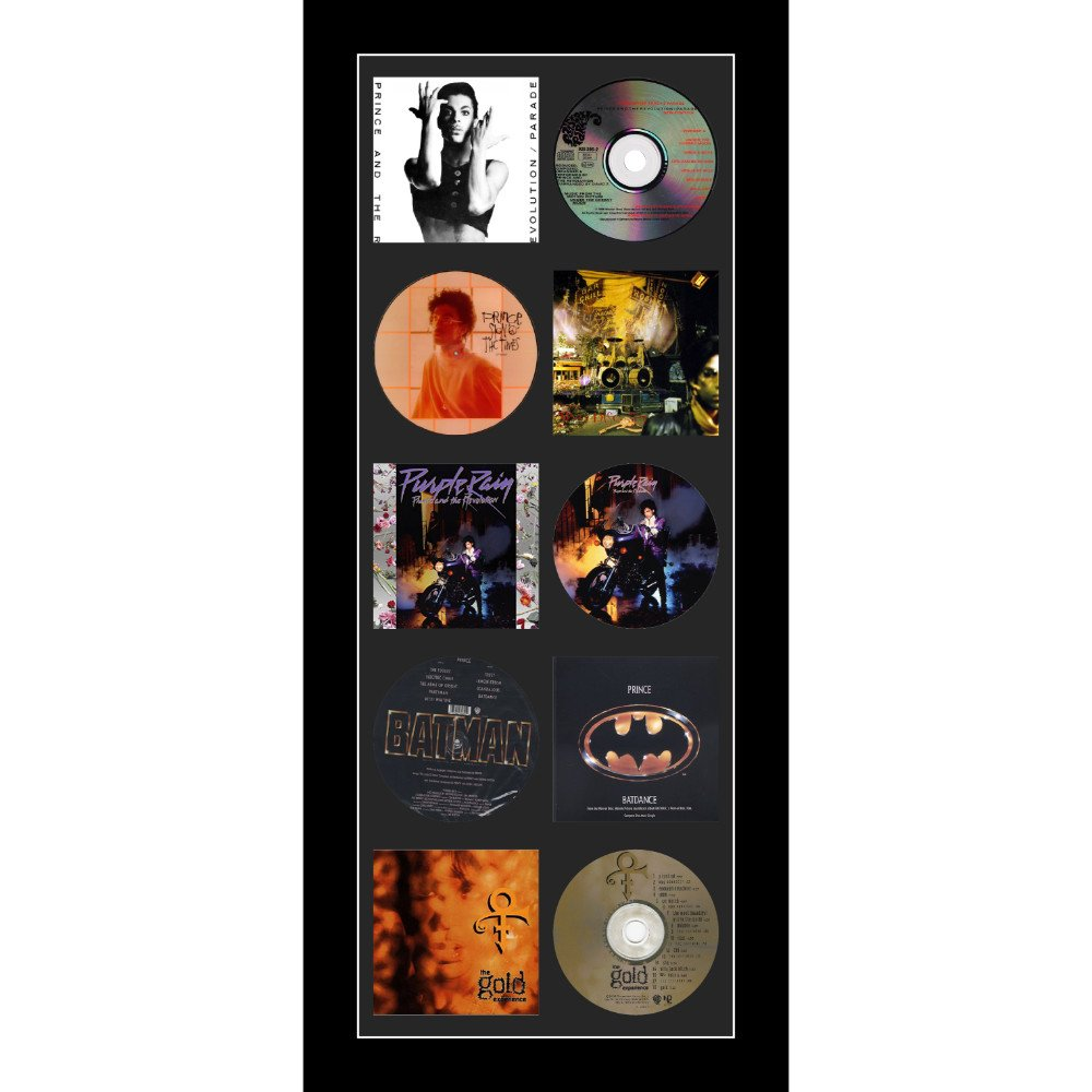 Large CD/Music Cover Prince Music Memorabilia Purple Picture Frame To Fit CD And Album
