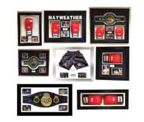 Boxing Memorabilia Framing