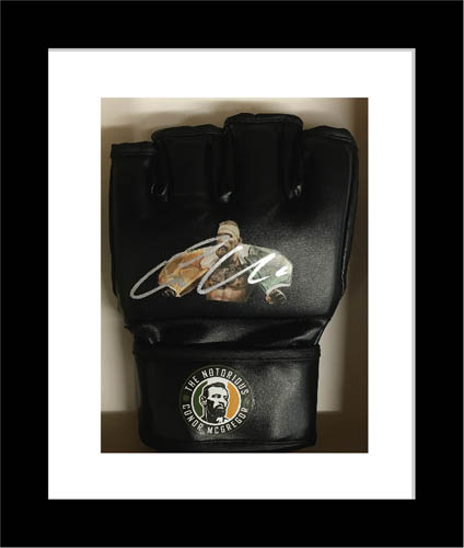 UFC GLOVE DISPLAY CASE FRAME