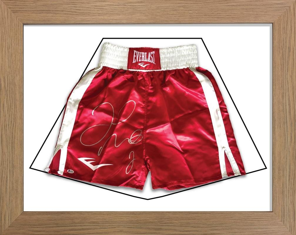 DIY Boxing Shorts Frame | frame for boxing shorts