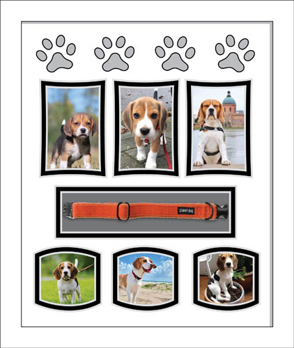 Personalised Dog Photo Picture Frame Dog Remembrance