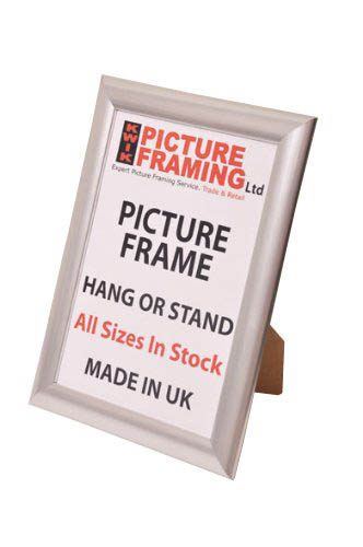 Silver Photo Picture Frame (Available in All Sizes)