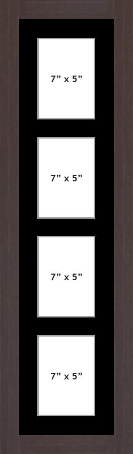 Multi Aperture picture frame fits 4 7x5 photos frames