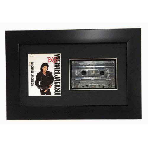 Frame For Music Cassette Tape And Cover 3d Display Frame