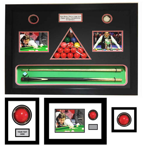 Snooker Ball Display Case
