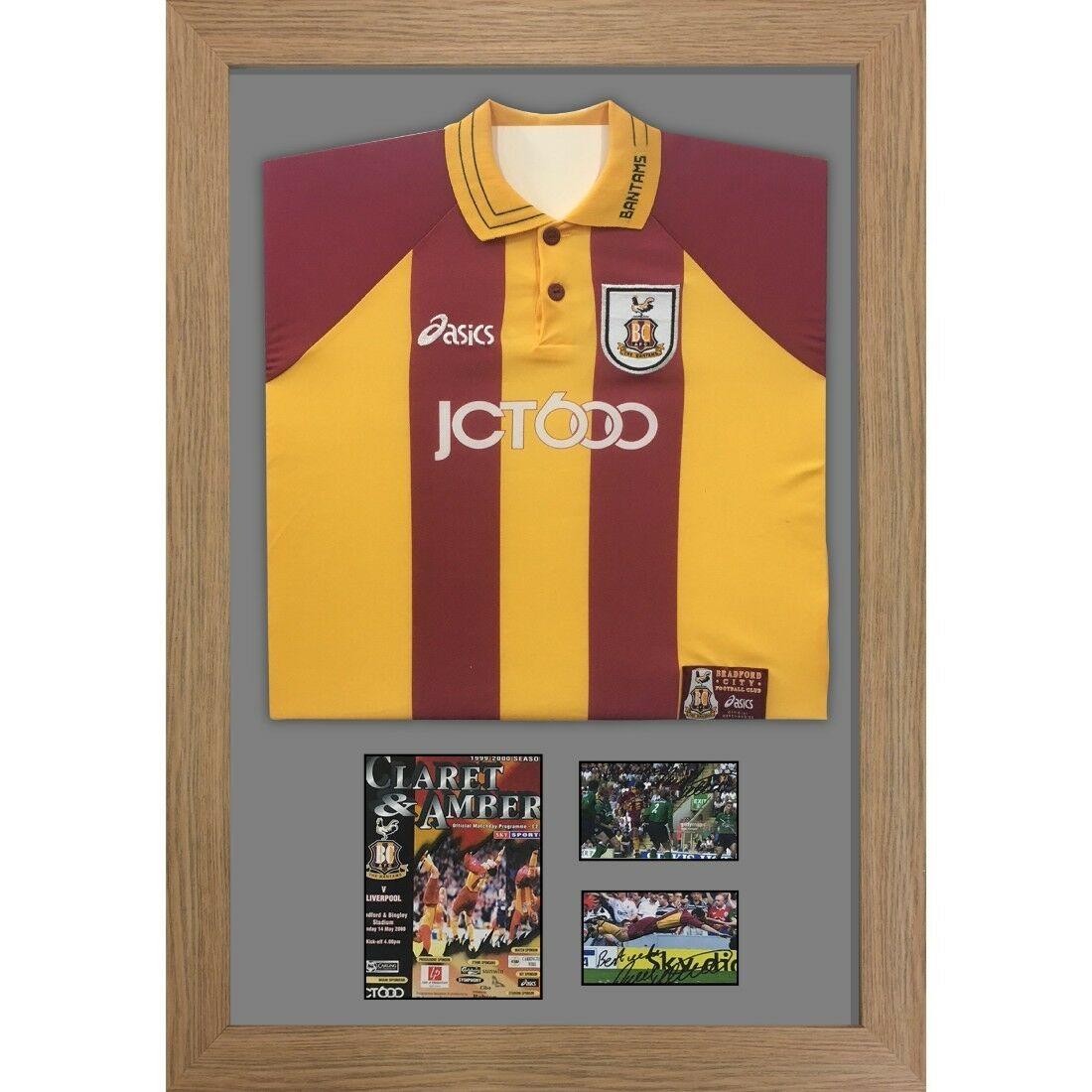 "DIY Football Shirt Frame with Football Program and 2x6"" x 4"" photos"