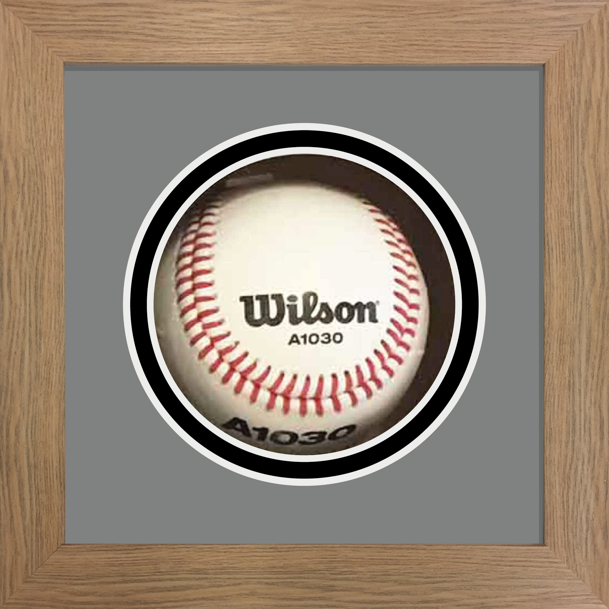 Baseball Ball Display Case For Signed Baseball Ball | Baseball Ball Frame