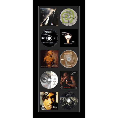 Large CD/Music Cover Tupac Shakur Memorabilia Picture Frame To Fit CD And Album