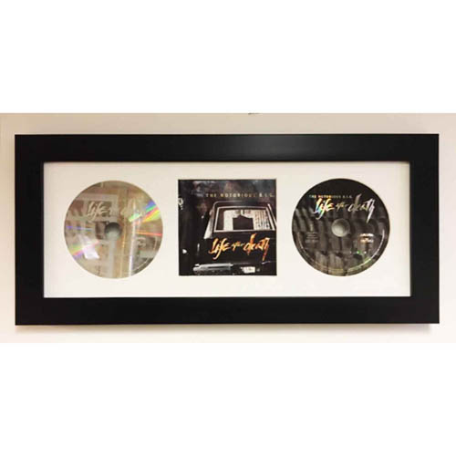 CD Music Album Cover And 2 X CD 3D Display Frame