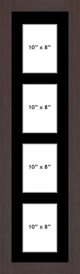 Multi Aperture picture frame fits 4 10x8 photos frames