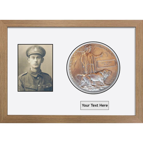 Medal Frames 3D Box Display Frame For World War Military Memorial Plaque-1 And Photo-1