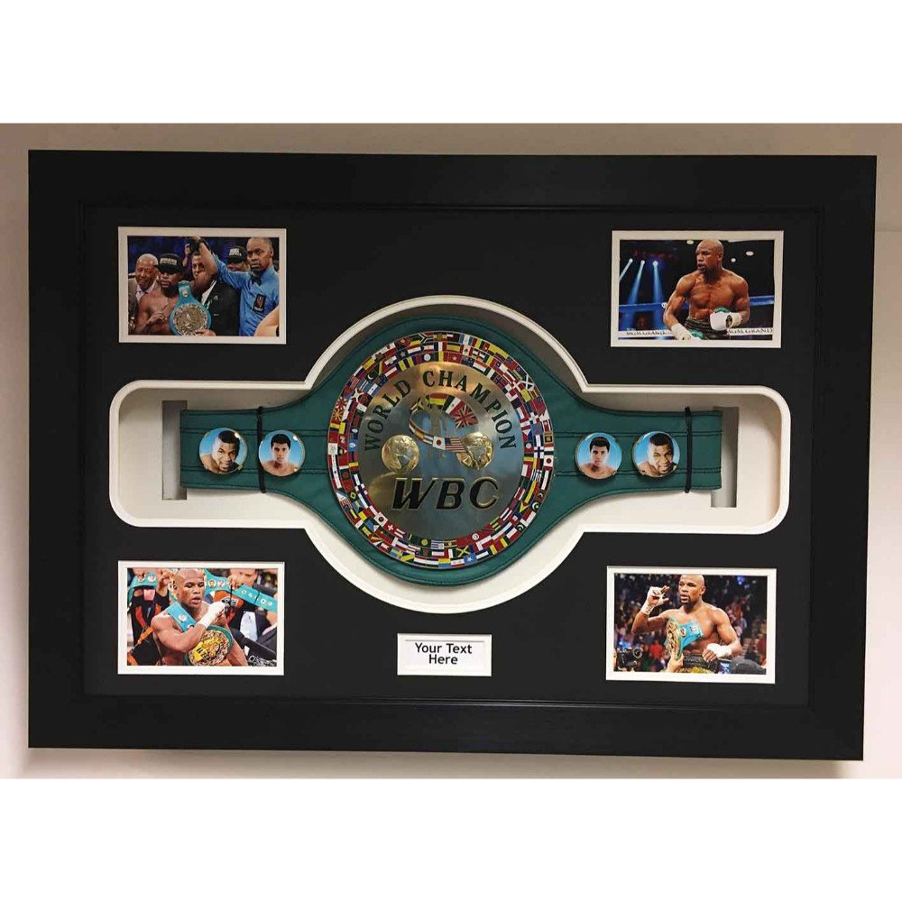 Frame For Boxing Championship Belt 3D Box Display Case For Any Boxing Belt Free Photos And Title