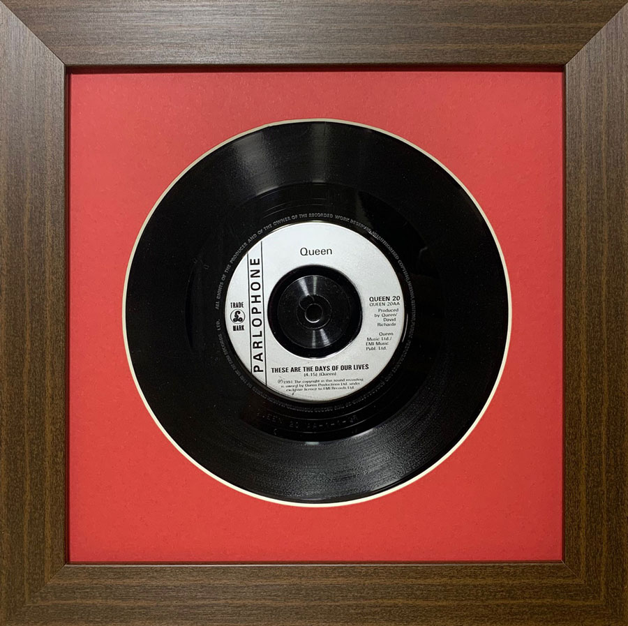 Vinyl Record Frames Display