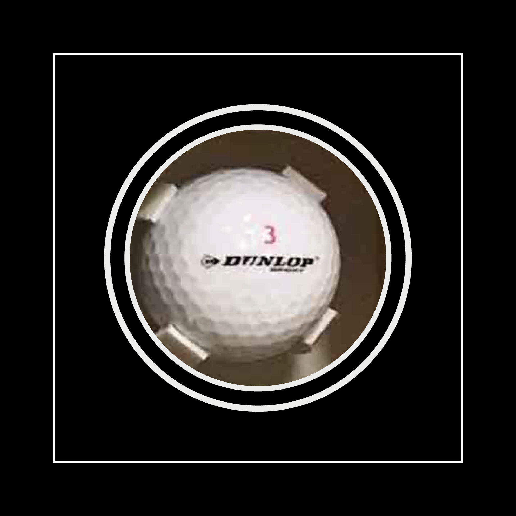 Golf Ball Display Case for Signed Golf Ball frames for Sports Memorabilia