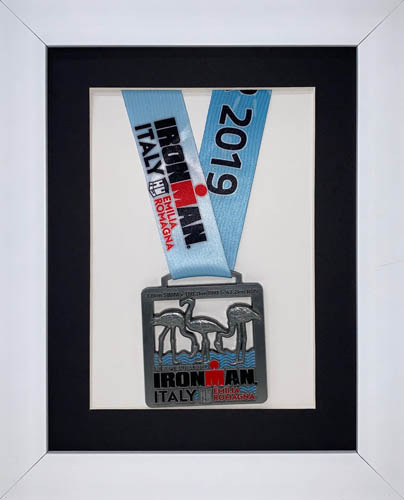 "3D Frame For Ironman, Triathlon Marathon, Running Medal Display Frame -13"" x 10"""