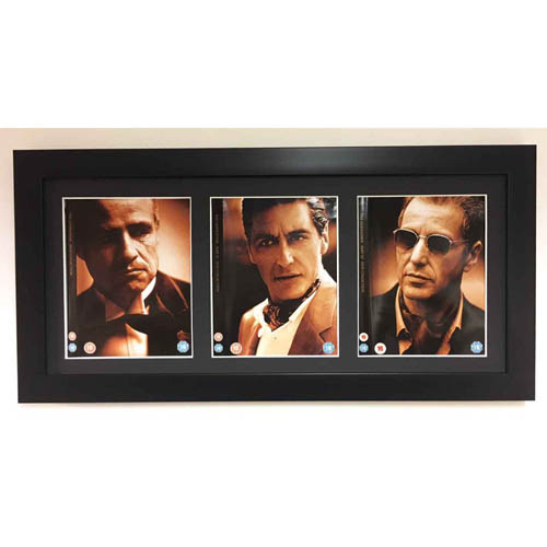 Frame For Trilogy 3x DVD Movie Front Cover 3D Display Frame