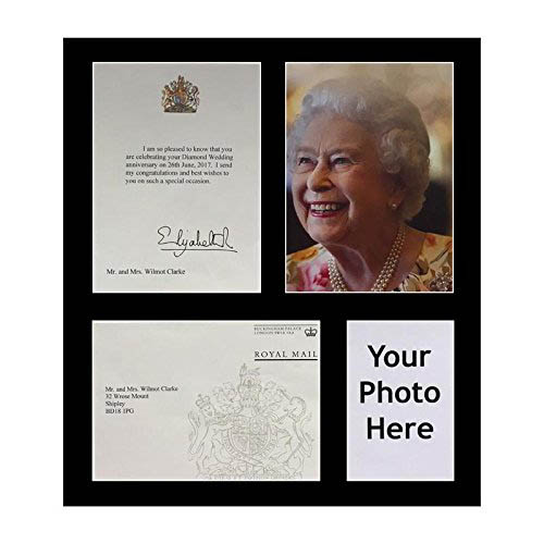 Queen Birthday Anniversary Frame