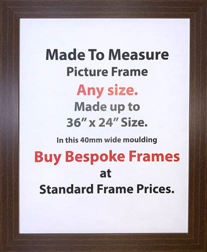 Custom & Made to Measure Picture Frames | 40mm Wide Moulding